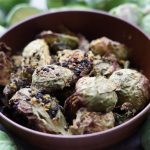 no oil easy brussel sprouts